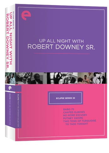 Eclipse Series 33: Up All Night With Robert Downey Sr. (DVD)