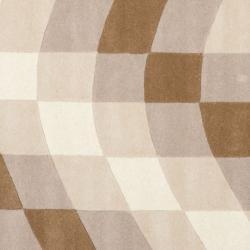 Safavieh Handmade Soho Prism Modern Abstract Wool Rug (6' x 6' Square) - Thumbnail 2