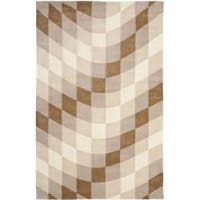 Safavieh Handmade Soho Prism Modern Abstract Wool Rug - 5' x 8'