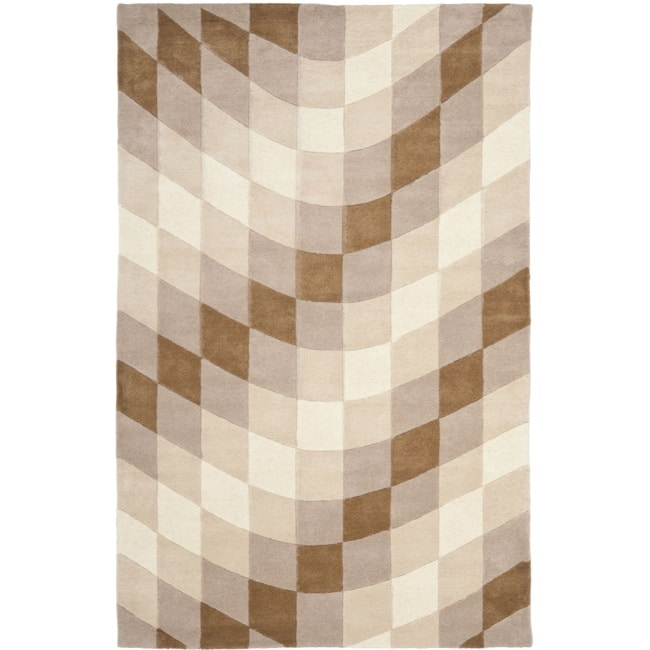 Safavieh Handmade Soho Prism Modern Abstract Wool Rug - 7'6 x 9'6
