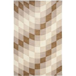 Safavieh Handmade Soho Prism Modern Abstract Wool Rug - 7'6 x 9'6 - Thumbnail 0