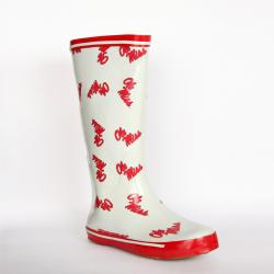 NCAA Ole Miss Rebel Women's Scattered Logo Rain Boots