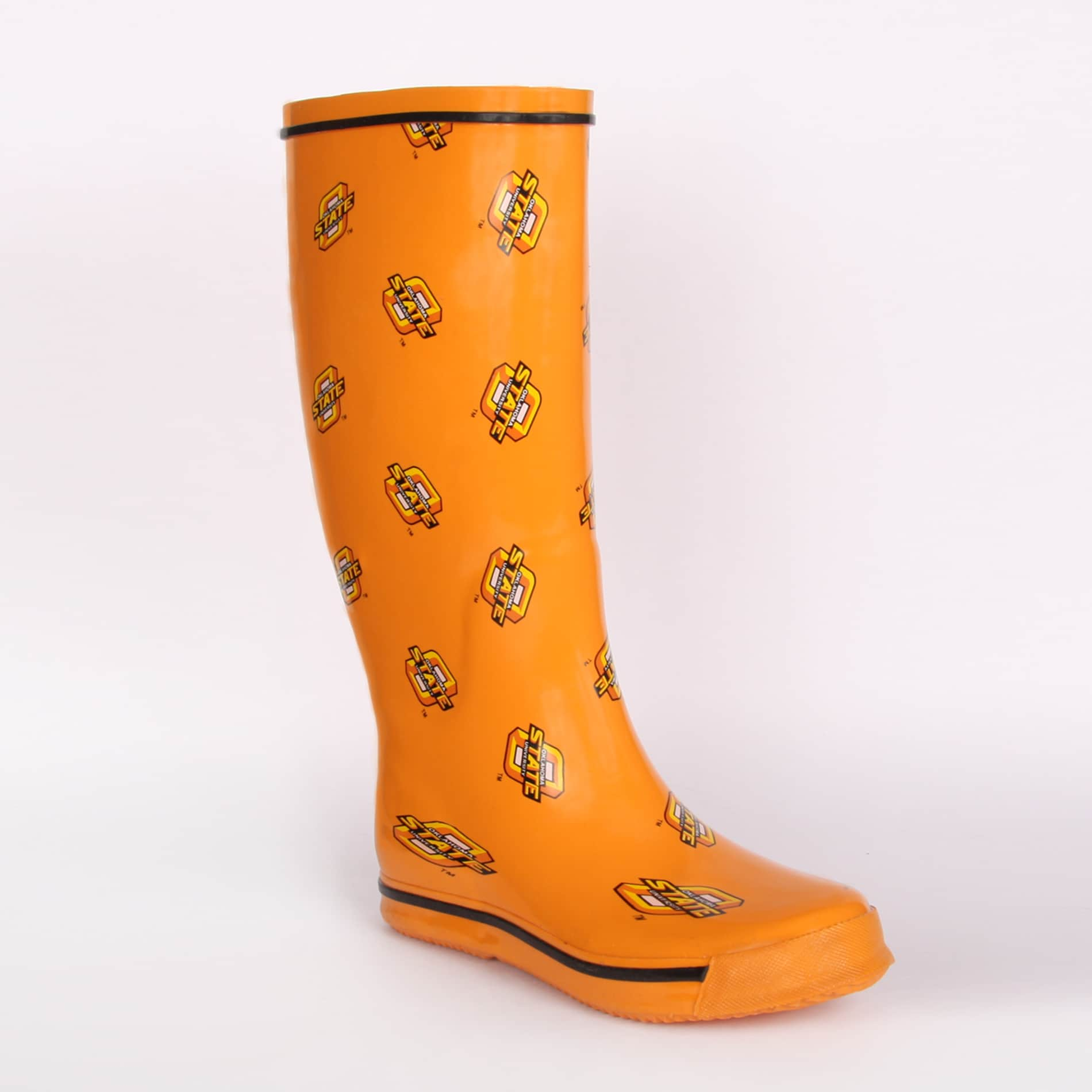 Oklahoma State Cowboys Women's Scattered Logo Rain Boots