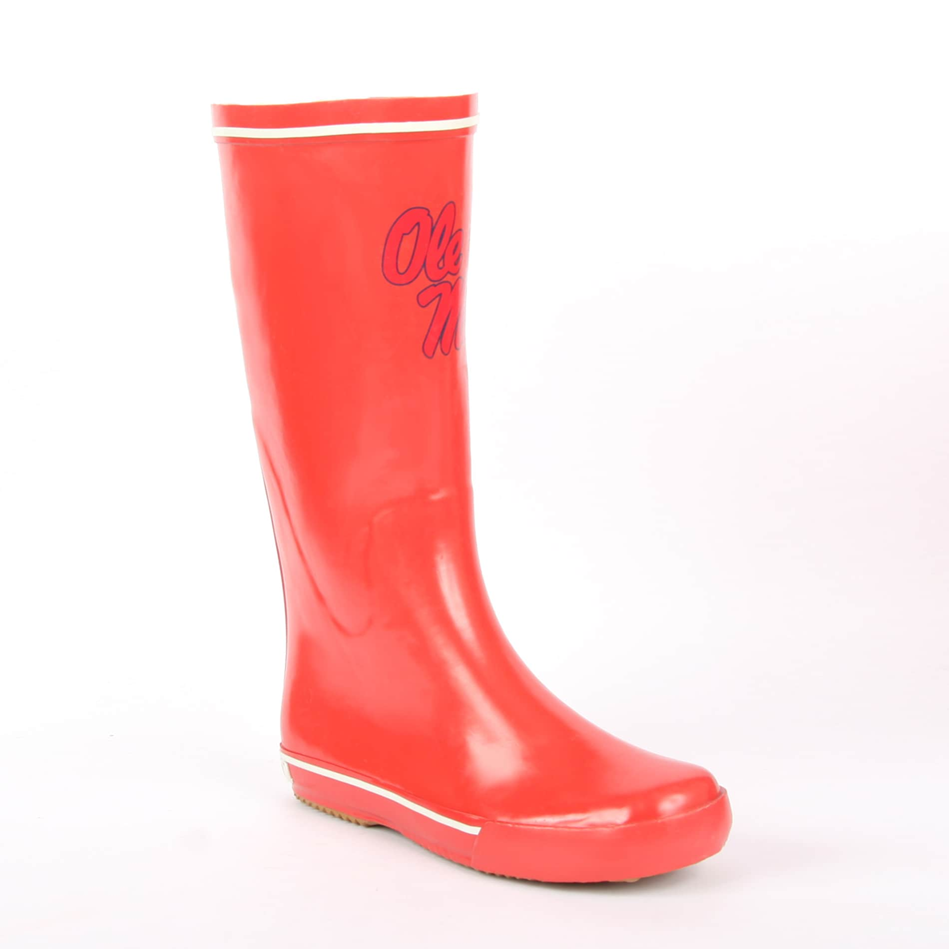 NCAA Ole Miss Rebel Women's Centered Logo Rain Boots