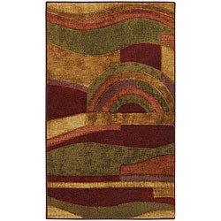 The Gray Barn Mountain Spirit Abstract Area Rug (3'9 x 5'8)