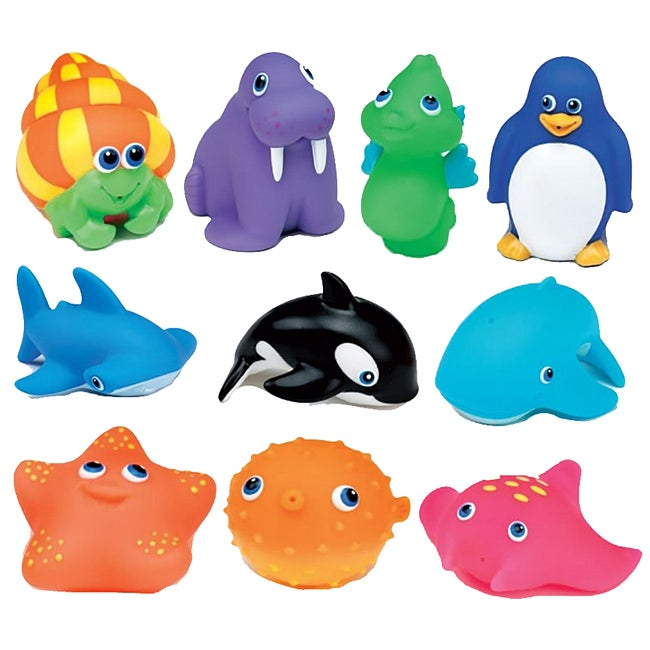 Munchkin Squirtin' Sea Buddies (Pack of 10) - Thumbnail 0