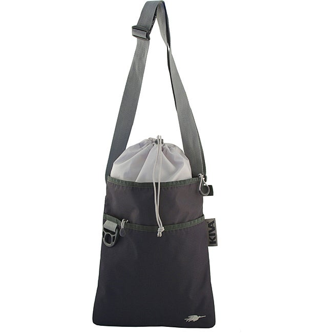 Kiva Packing Genius Granite Cross-body Travel Tote Bag