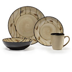 pfaltzgraff everyday briar 16piece dinnerware set