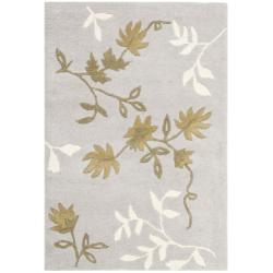 Safavieh Handmade Soho Twigs Light Grey New Zealand Wool Rug (2' x 3')