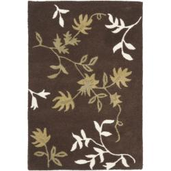 Safavieh Handmade Soho Twigs Brown New Zealand Wool Rug (2' x 3')