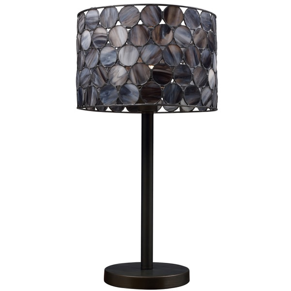 Tiffany-style Landmark Lighting Cirque Table Lamp
