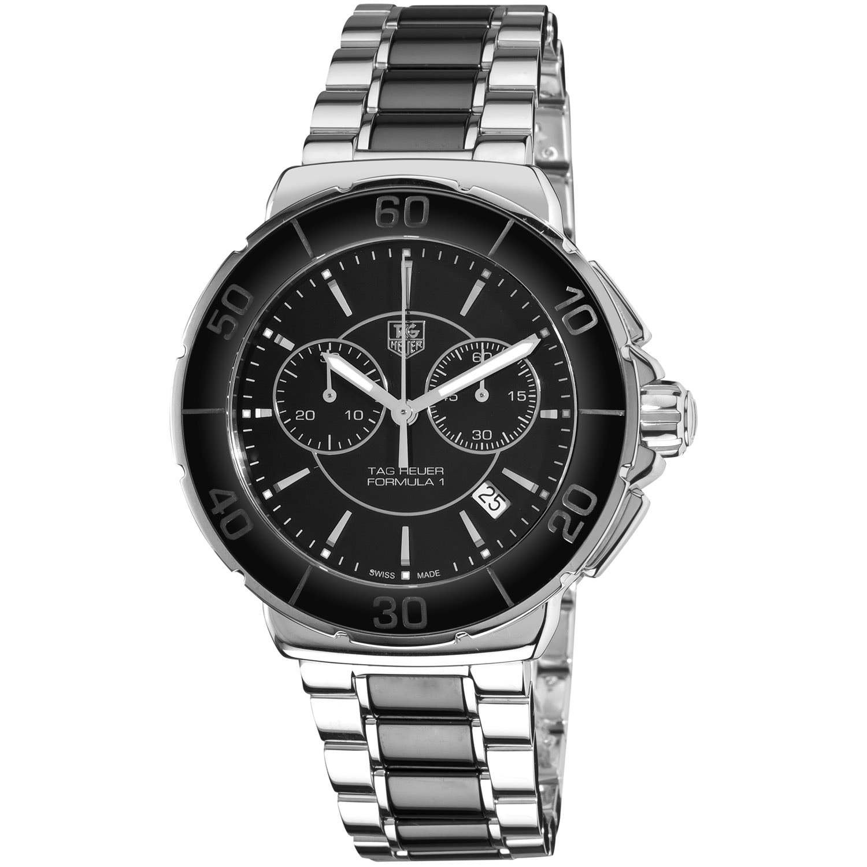 Tag Heuer Women's CAH1210.BA0862 'Formula 1' Stainless Steel Black Ceramic Watch