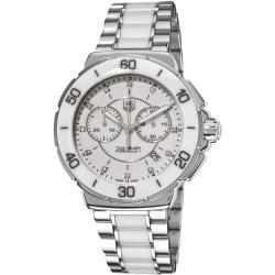 Tag Heuer Women's CAH1211.BA0863 'Formula 1' Stainless Steel White Ceramic Watch