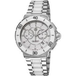 Tag Heuer Women's CAH1211.BA0863 'Formula 1' Stainless Steel White Ceramic Watch