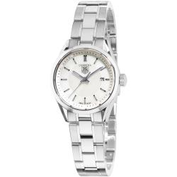 Tag Heuer Women's WV1415.BA0793 'Carrera' Mother of Pearl Dial Stainless Steel Watch