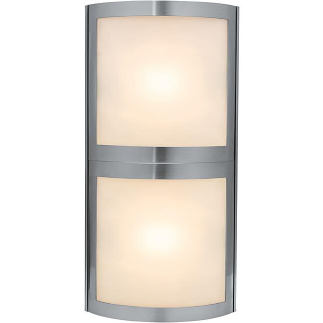 Access Sentinel 2-light Satin Wall Vanity