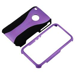 Purple Case/ Screen Protector/ MFI USB Cable for Apple iPhone 3GS