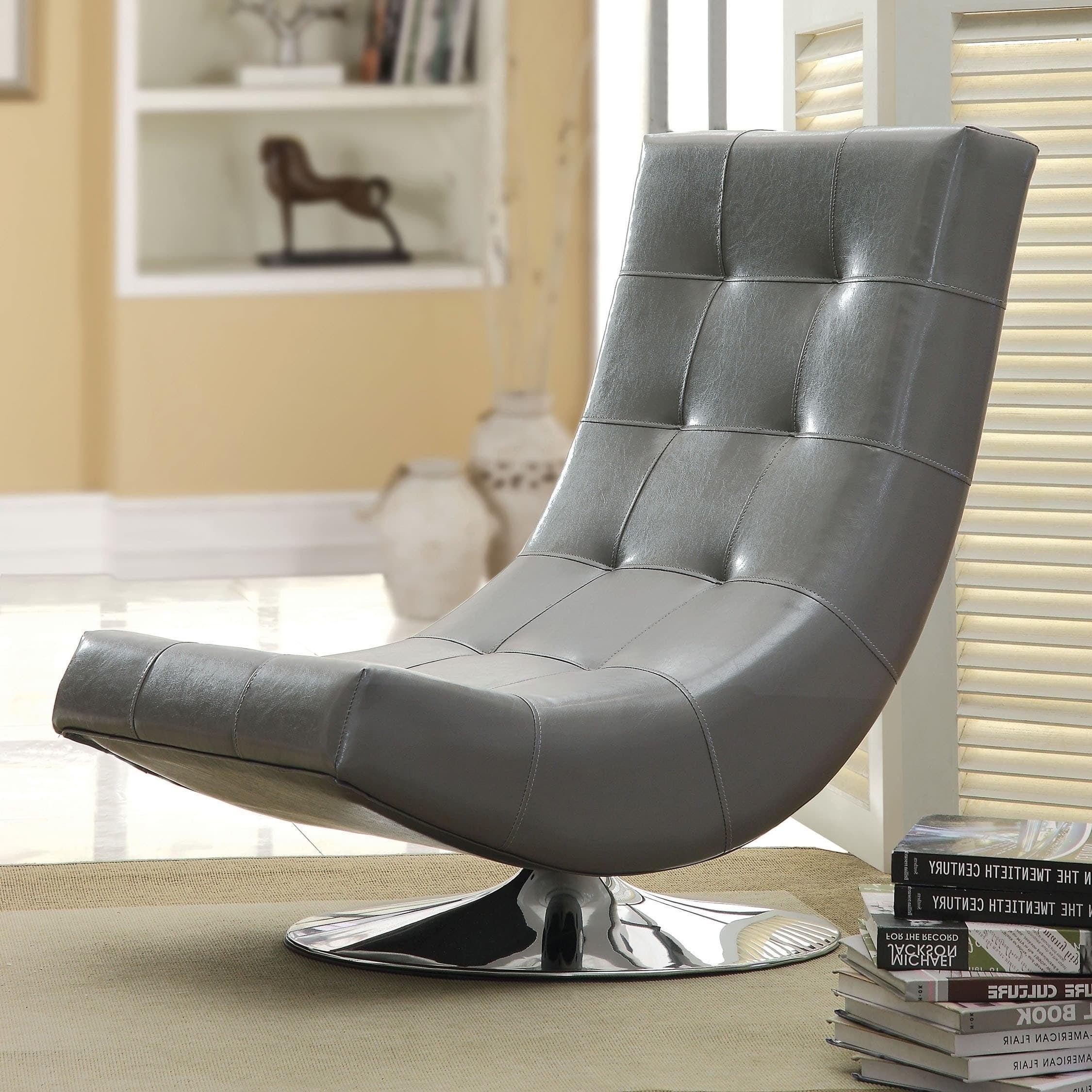 Encore Contemporary Swivel Chair by FOA