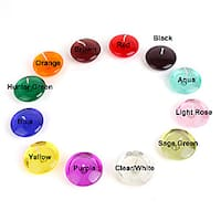 3-inch Gel Floating Candles (Case of 72)