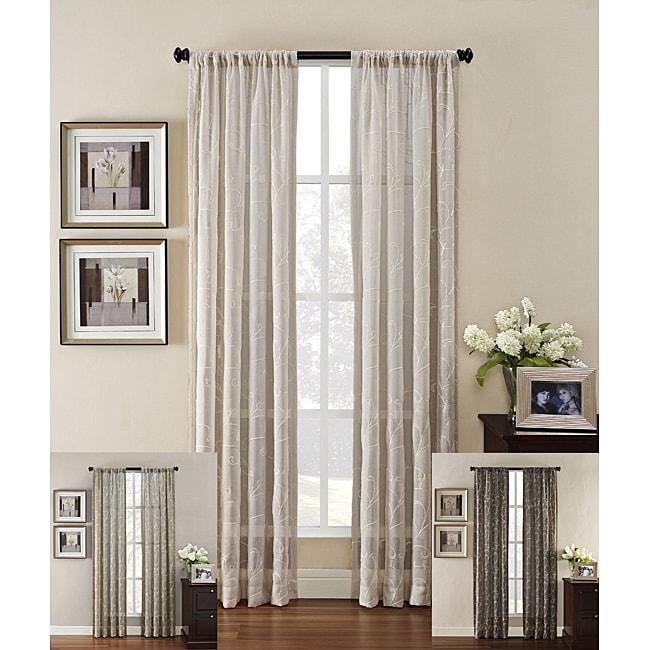 Heirloom Rod Pocket 84-inch Curtain Panel