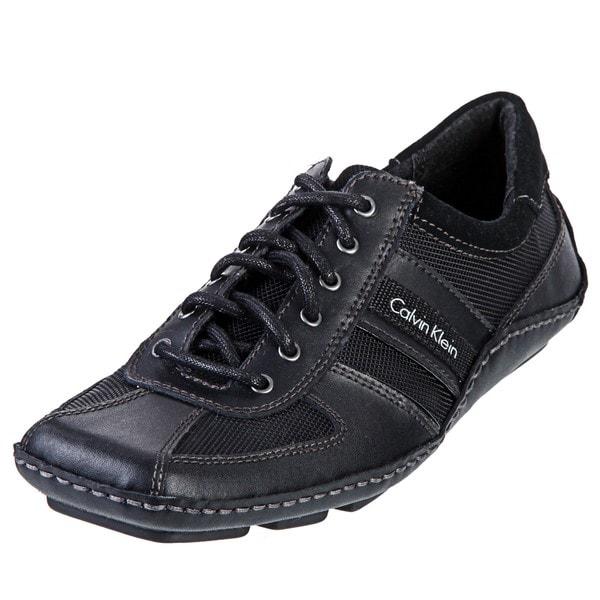 Calvin Klein Men's 'Max' Black Oxfords