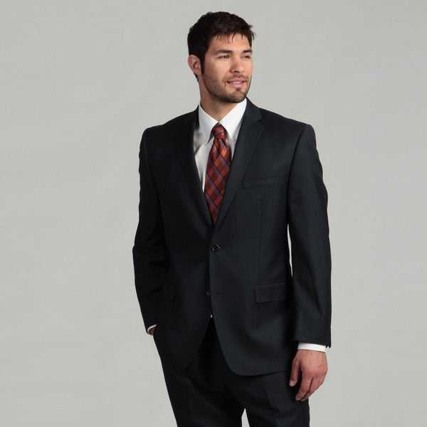 Joseph Abboud Men's 2-button Navy Wool Suit