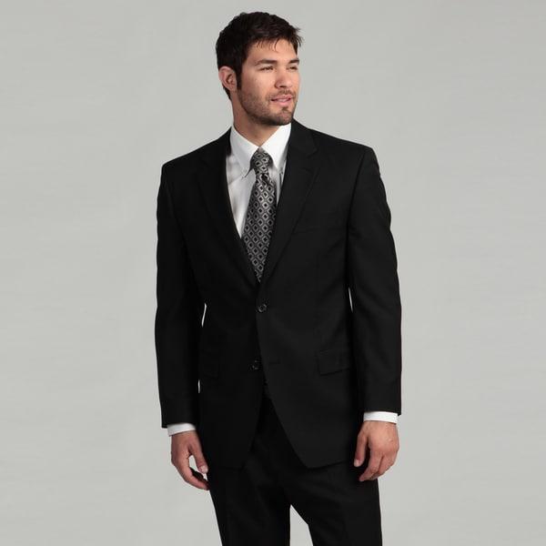 MICHAEL Michael Kors Men's 2-button Black Suit
