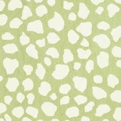 Safavieh Handmade Children's Safari Green/ Ivory N. Z. Wool Rug (4' x 6') - Thumbnail 2