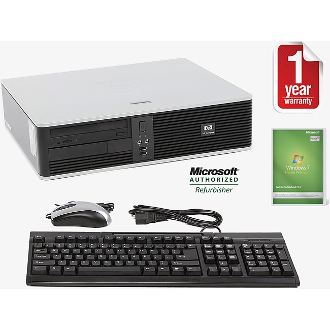 HP Compaq DC7800 Intel Core 2 Duo 2.33GHz CPU 2GB RAM 160GB HDD Windows 10 Home Small Form Factor Computer (Refurbished)