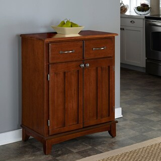 Gracewood Hollow Arthur Medium Cherry Buffet with Wood Top