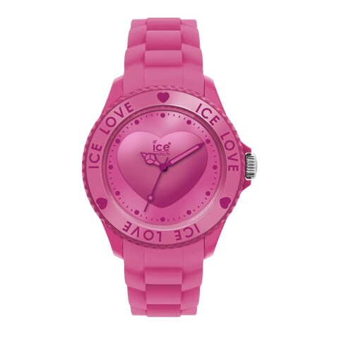 Ice Women's Pink Silicone Watch