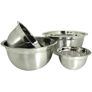 Prime Pacific Stainless Steel Euro Style German Deep Mixing Bowls (Set of 4)|https://ak1.ostkcdn.com/images/products/6549358/P14129769.jpg?impolicy=medium