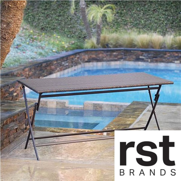 Rst Outdoor Patio Furniture Perfect Folding Table Free Shipping Today 14129848