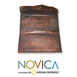 Leather 'Membumi Traveler' Passport Holder (Indonesia)