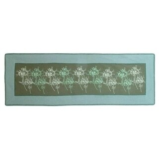 Handmade Cotton 'Flower Breeze' Table Runner (Thailand)