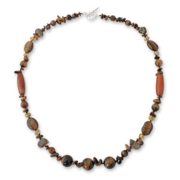 Shop Handmade Multi Gemstone Exotic Chiang Mai Necklace
