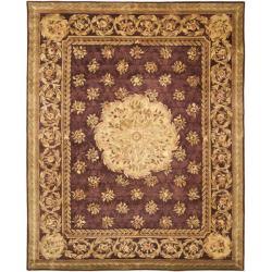 Safavieh Handmade Aubusson Roinville Red Wool Rug (8' x 10')