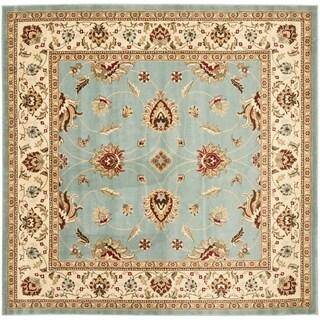 Safavieh Lyndhurst Traditional Oriental Blue/ Ivory Rug (6'7 Square)