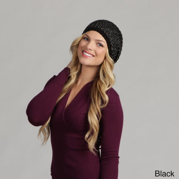 Calvin Klein Women's Icelandic Beret Hat FINAL SALE