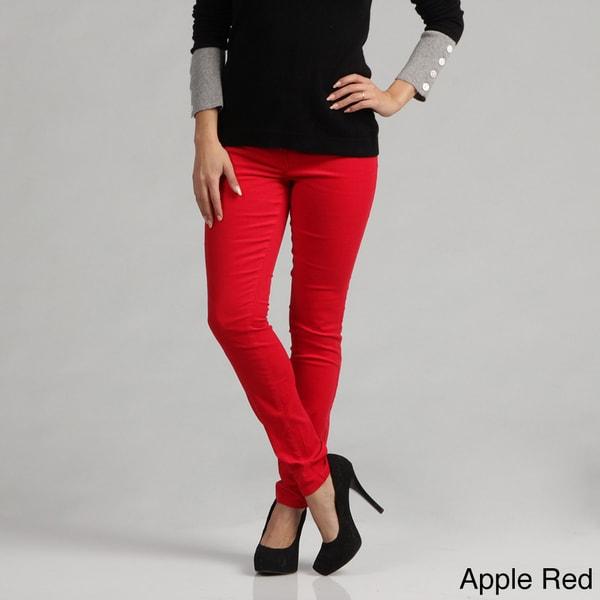 Kensie Women's Slim Fit Stretch Corduroy Pants FINAL SALE