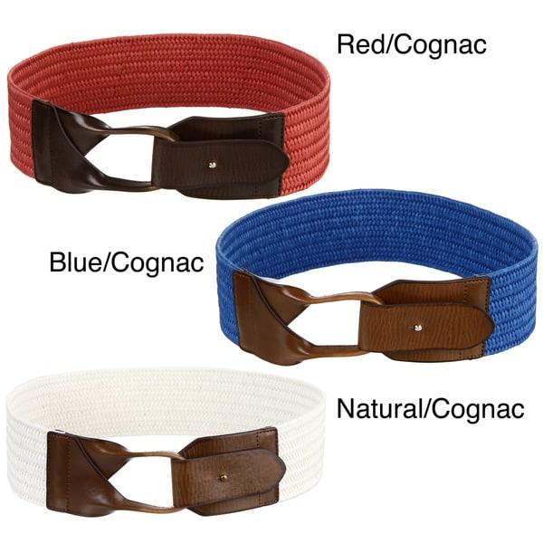 Steve Madden Women's Loop Braided Belt
