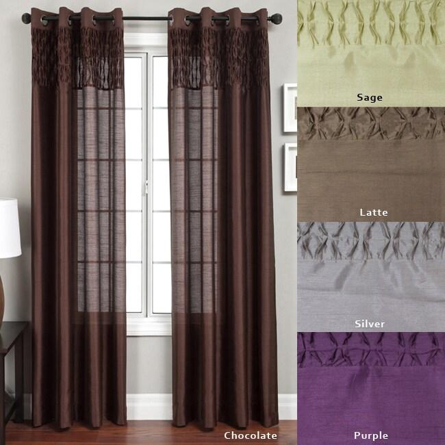 Array Grommet Top 84-inch Curtain Panel