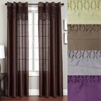 Softline Array Grommet Top 84-inch Curtain Panel - 54 x 84