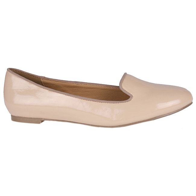 Neway by Beston Women's 'joe-01' Patent Leather Smoking Flats