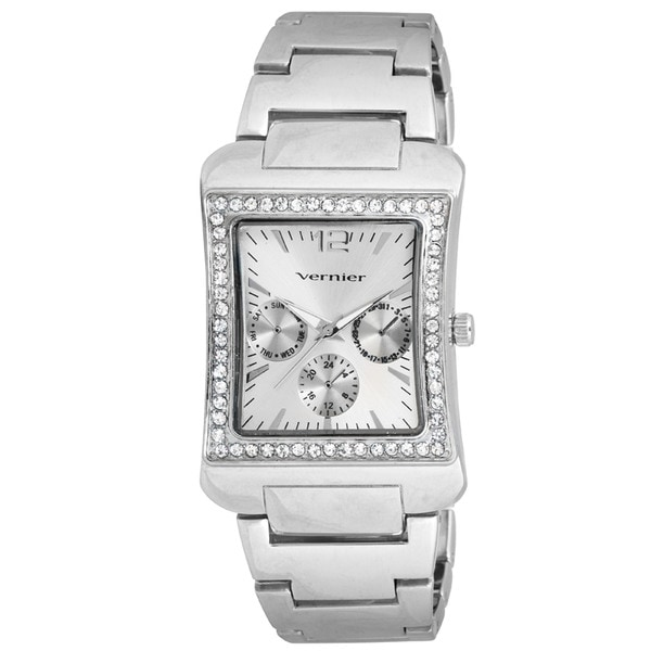 Vernier Women's V11059 Series Sparkle Faux Chrono Watch