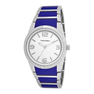 Vernier Women's V11100SS Metal and Plastic Fashion Watch