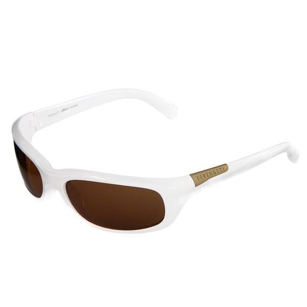 Serengeti Coriano Women's White Sport Sunglasses
