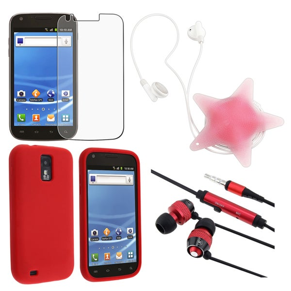 BasAcc Case/ LCD Protector/ Headset/ Wrap for Samsung Galaxy S II T989