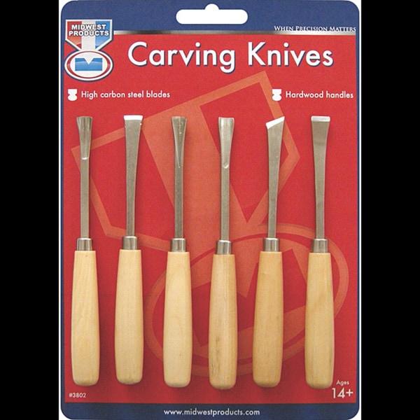 Product Wood Carving Knife: Shop Wood Carving Knife Set (6/pkg)