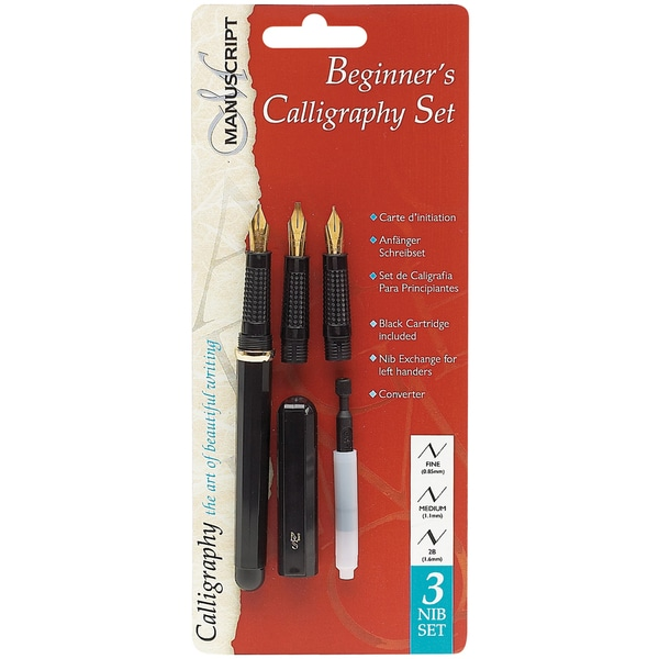 Manuscript Beginner Calligraphy Set Free Shipping On